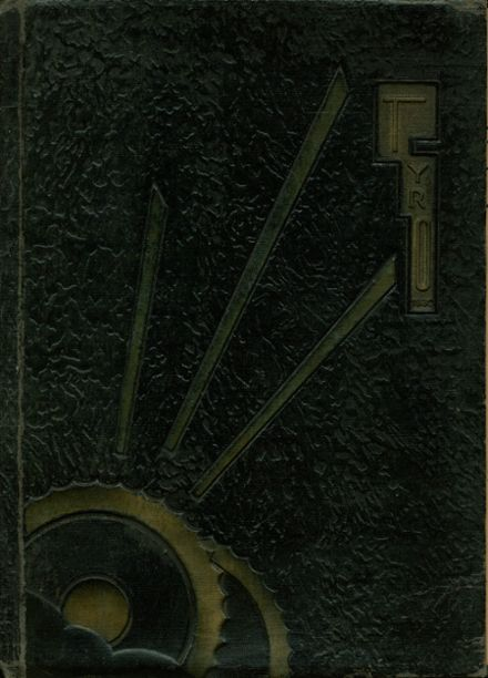 1930 San Bernardino High School Yearbook Cover