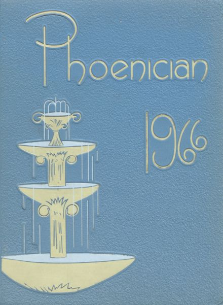 1966 Phoenix Union High School Yearbook Cover