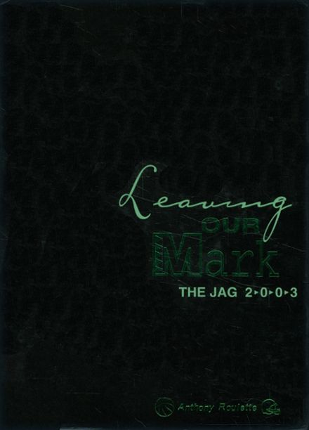 2003 Jasper Freshman High School Yearbook Cover