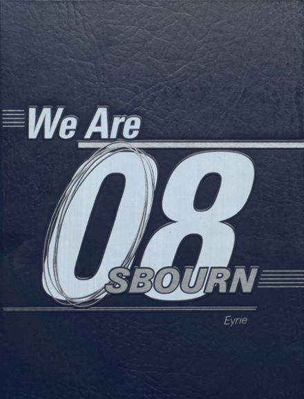 2008 Osbourn High School Yearbook Cover