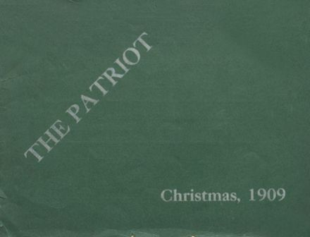 1909 Shields High School Yearbook Cover