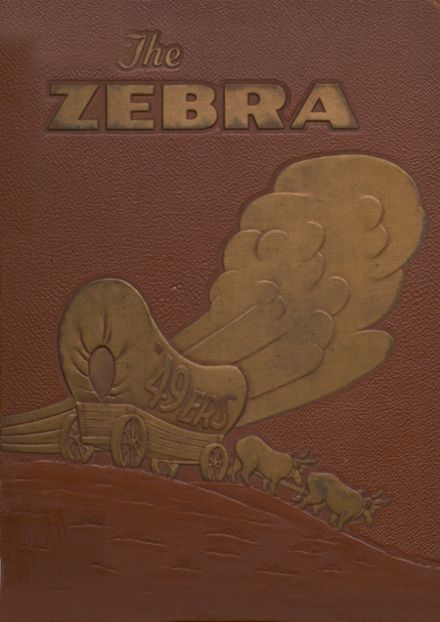 1949 Pine Bluff High School Yearbook Cover