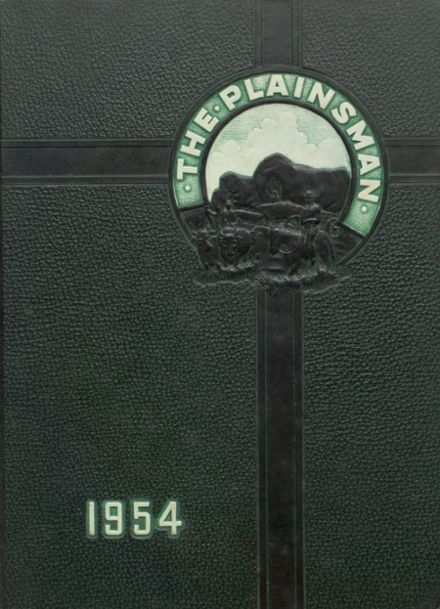 1954 Plainfield High School Yearbook Cover