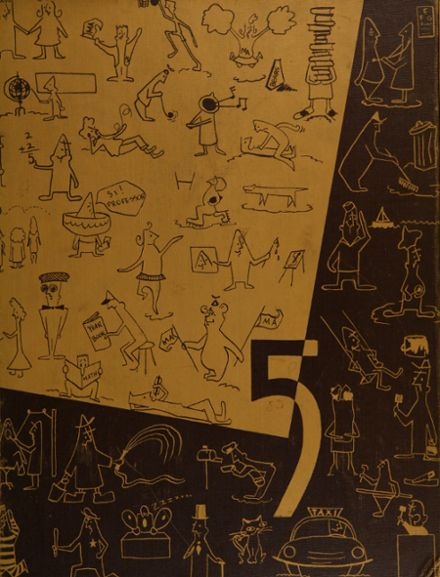 1956 Menlo-Atherton High School Yearbook Cover