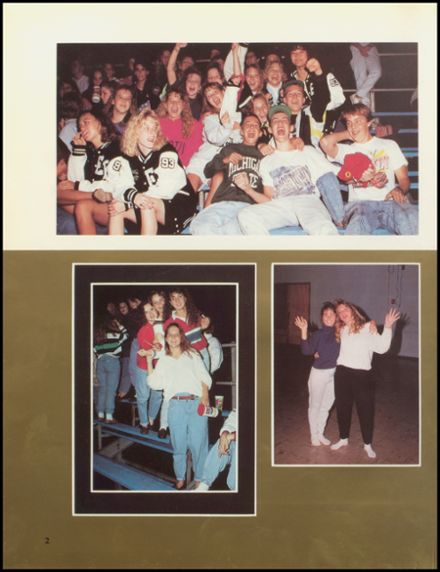 1991 Edsel Ford High School Yearbook Page 6
