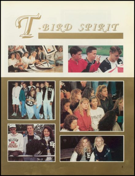 1991 Edsel Ford High School Yearbook Page 7