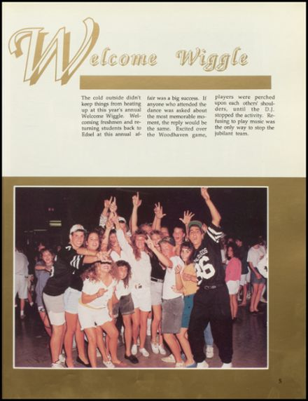 1991 Edsel Ford High School Yearbook Page 9