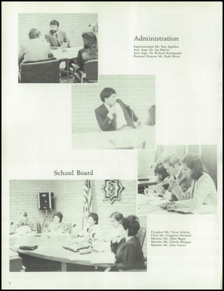 1986 Chinle High School Yearbook Online Chinle Az Classmates