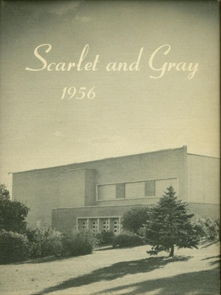 1956 West Lafayette High School Yearbook Cover