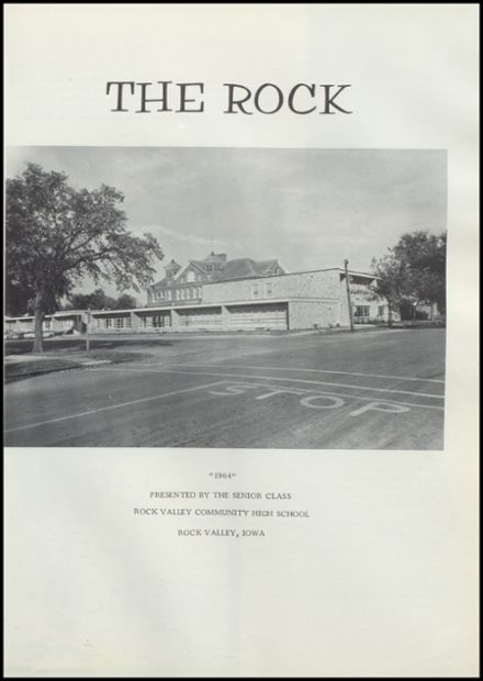 1964 Rock Valley High School Yearbook Page 5