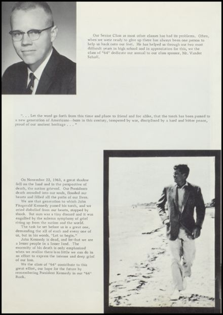 1964 Rock Valley High School Yearbook Page 6