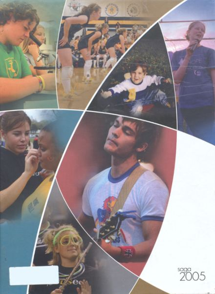 2005 Shawnee Mission West High School Yearbook Cover