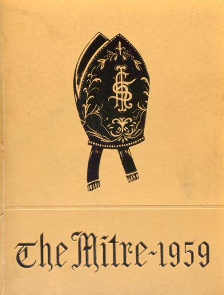 1959 Bishop McDonnell Memorial High School Yearbook Cover