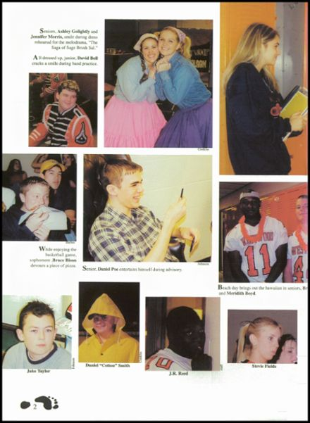 2002 Westwood High School Yearbook Page 6