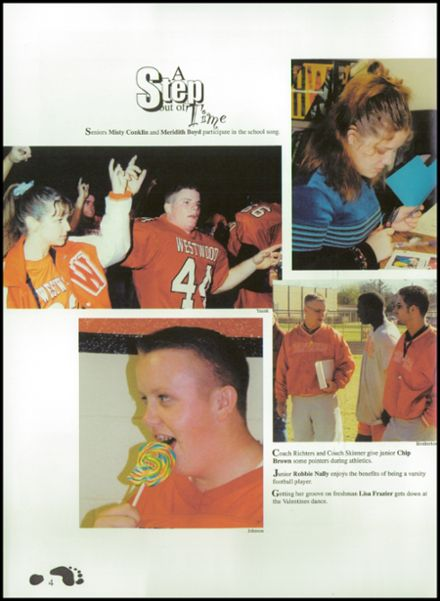 2002 Westwood High School Yearbook Page 8
