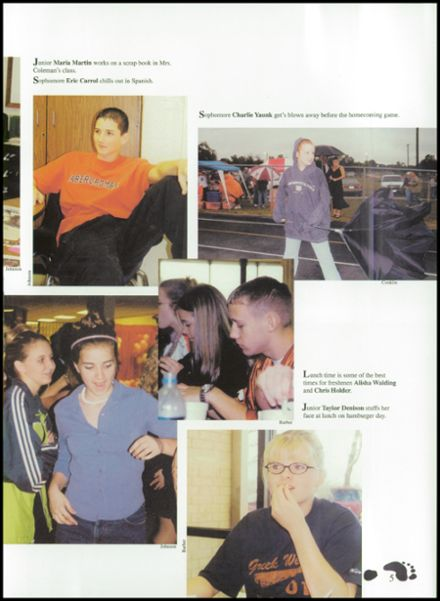 2002 Westwood High School Yearbook Page 9