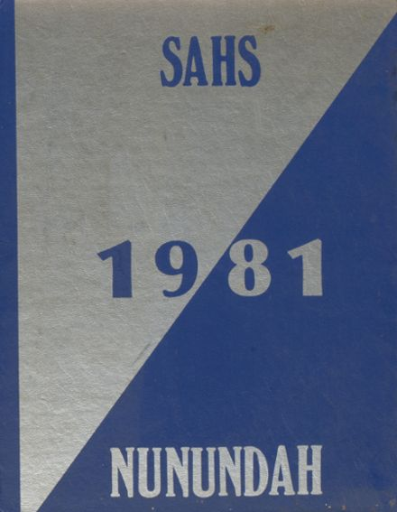1981 Smethport Area Junior Senior High School Yearbook Cover