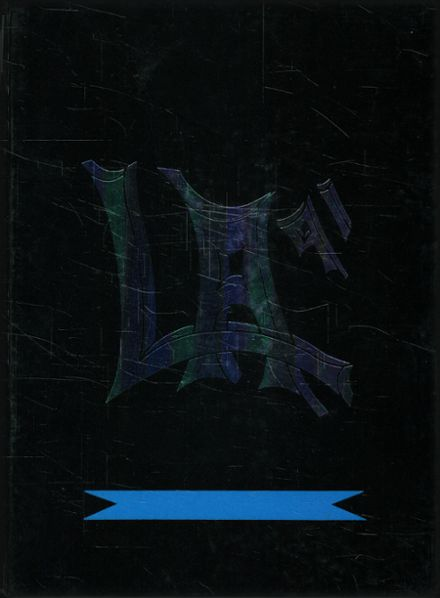 1991 Lee Academy Yearbook Cover