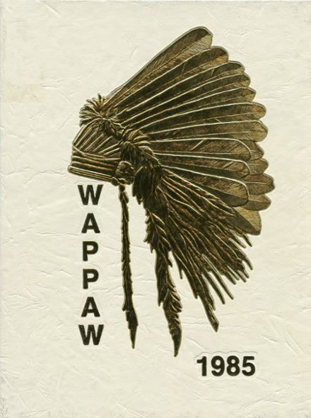 1985 Paw Paw High School Yearbook Cover