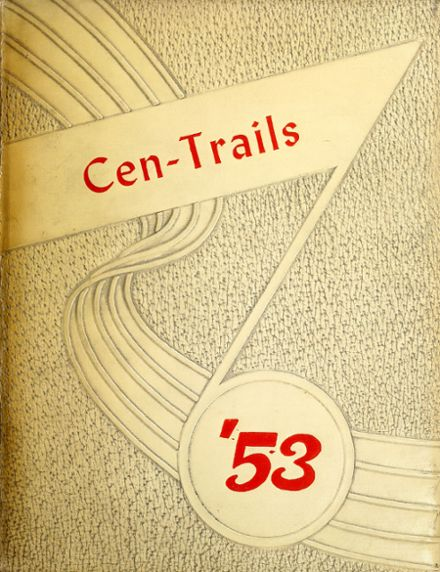 1953 Adams Central High School Yearbook Cover