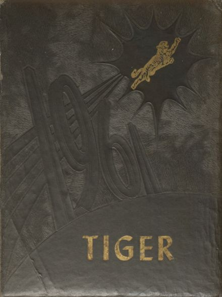 1961 Charlotte High School Yearbook Cover