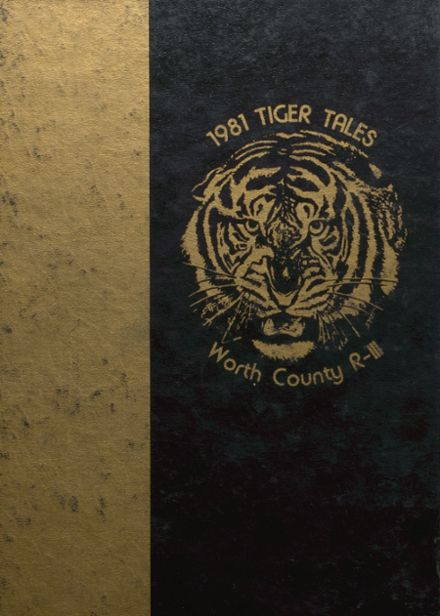 1981 Worth County R-III High School Yearbook Cover