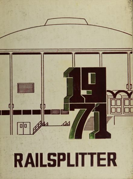 1971 Lincoln High School Yearbook Cover