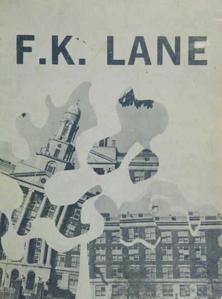 1977 Franklin K. Lane High School Yearbook Cover