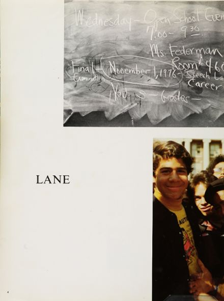 1977 Franklin K. Lane High School Yearbook Page 8