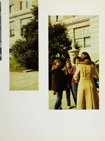 1977 Franklin K. Lane High School Yearbook Page 9
