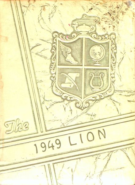 1949 Woodhouse High School Yearbook Cover