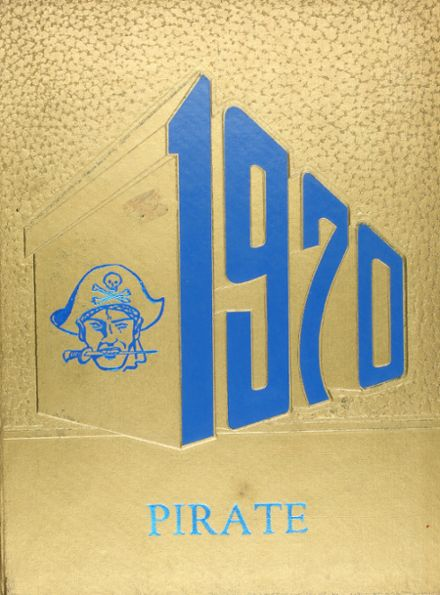 1970 Bowie High School Yearbook Cover