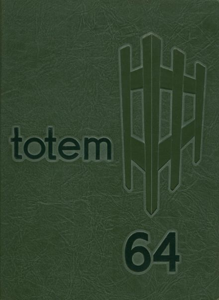 1964 South Side High School Yearbook Cover