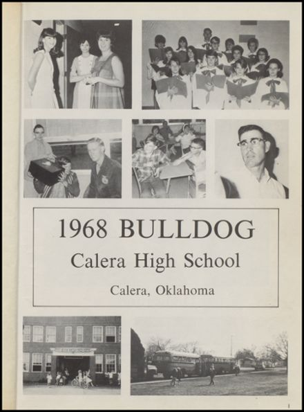 1968 Calera High School Yearbook Page 5