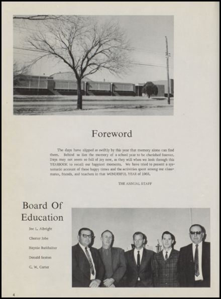 1968 Calera High School Yearbook Page 8