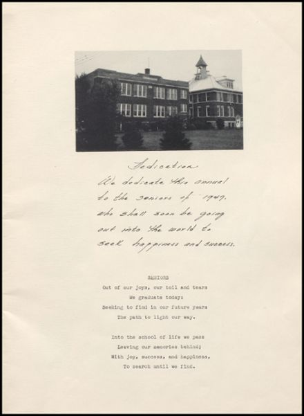1947 Rib Lake High School Yearbook Page 5
