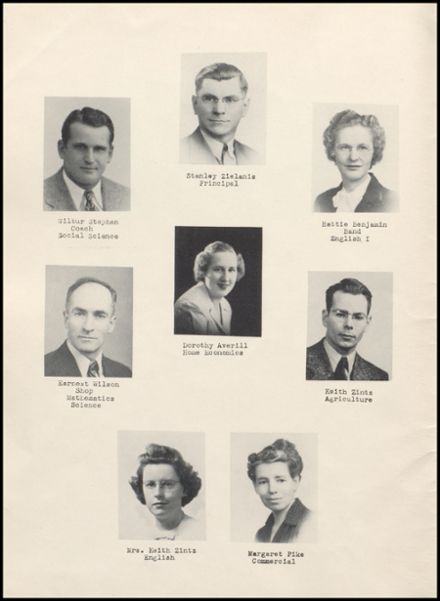 1947 Rib Lake High School Yearbook Page 6