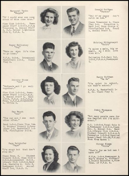 1947 Rib Lake High School Yearbook Page 8