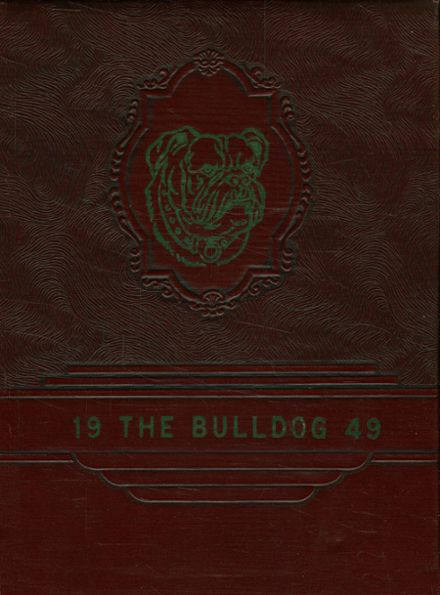 1949 Millsap High School Yearbook Cover
