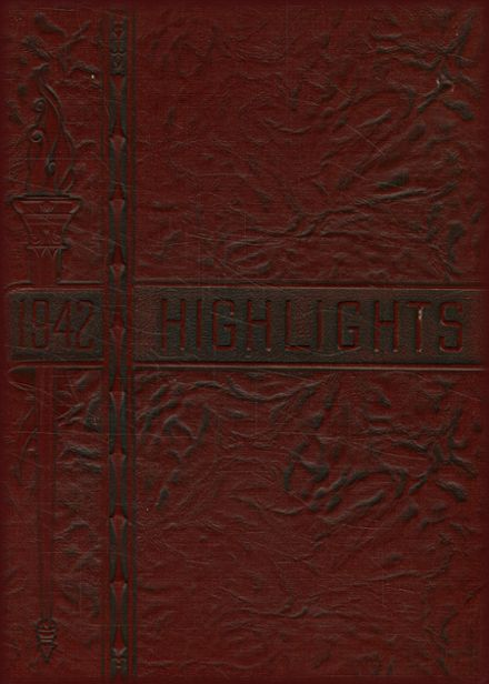 1942 Lansdale High School Yearbook Cover