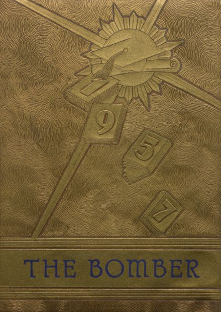 1957 Mountain Home High School Yearbook Cover