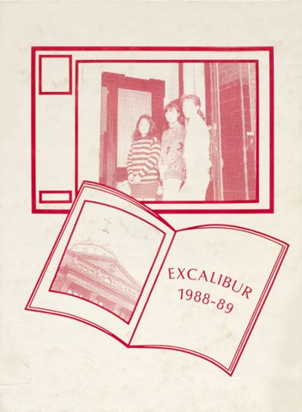 1989 Holy Names Academy Yearbook Cover
