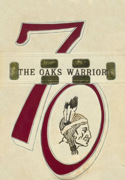 1970 Oaks-Mission High School Yearbook Cover
