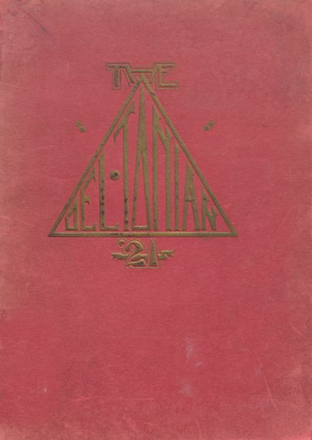 1921 Greenwood High School Yearbook Cover