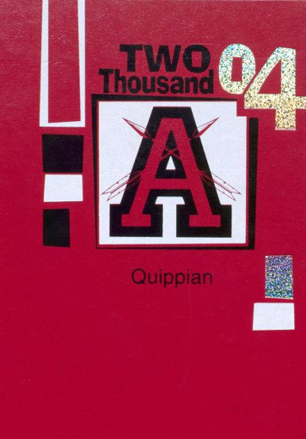 2004 Aliquippa High School Yearbook Cover