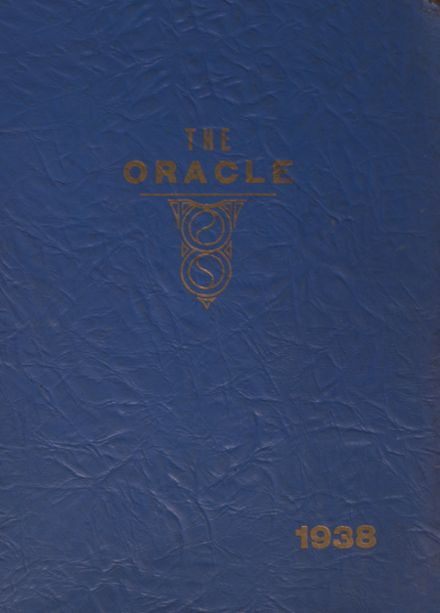 1938 Whitmer High School Yearbook Cover
