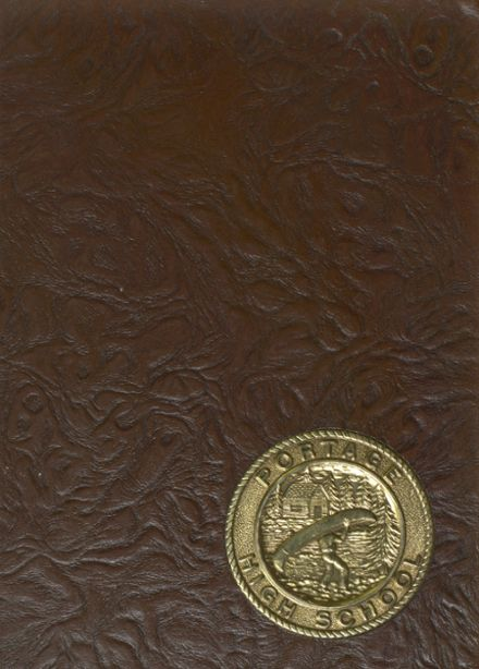 1966 Portage High School Yearbook Cover