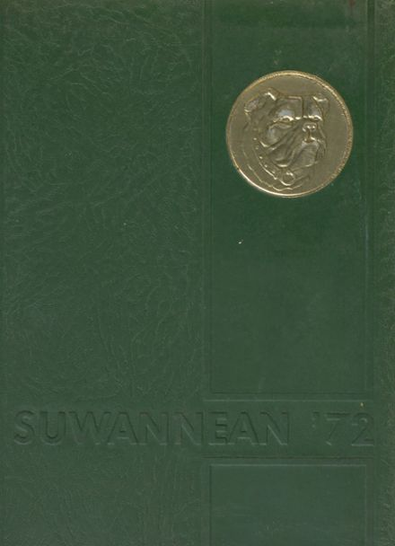1972 Suwannee High School Yearbook Cover