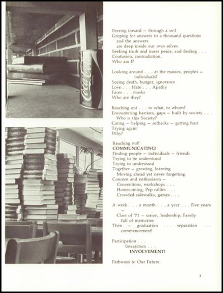 1971 Lee-Davis High School Yearbook Page 7