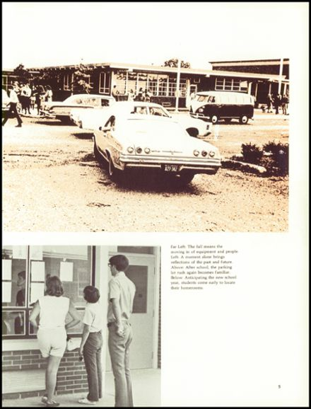 1971 Lee-Davis High School Yearbook Page 9